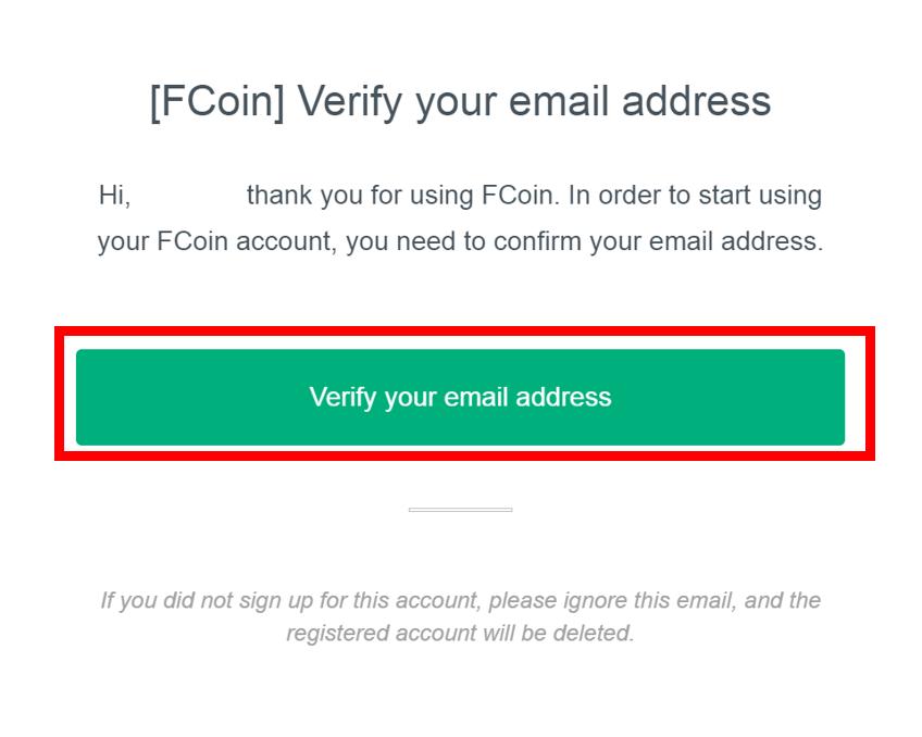 FCoinの登録・口座開設方法4
